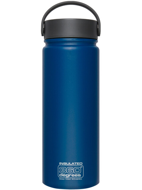 360° degrees Wide Mouth Insul - Gourde - 550ml bleu